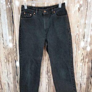Levi Jeans Black 512 Size 14 Straight Leg